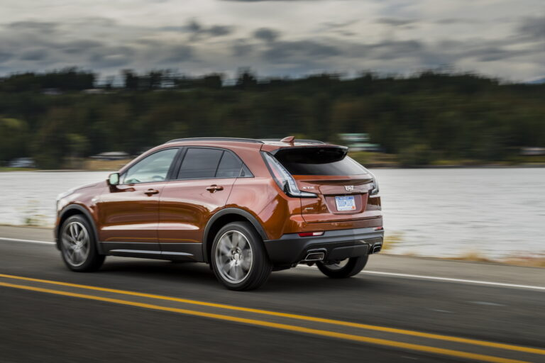 As the first Cadillac model, the XT4 has a state-of-the-art electro-hydraulically controlled brake system.