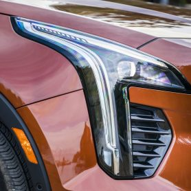 All model variants of the Cadillac XT4 have front and rear advanced LED lighting technologies.