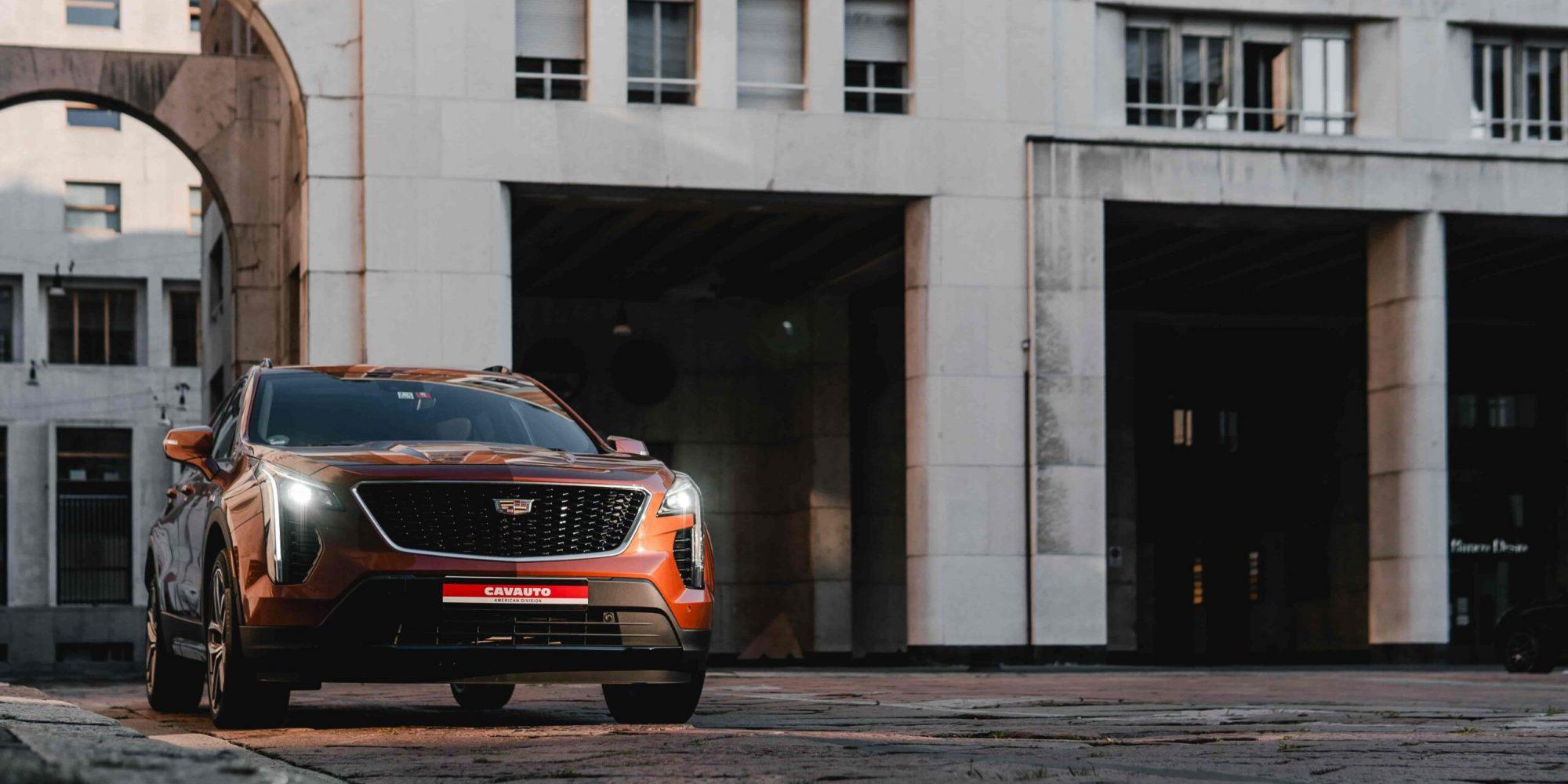 Caratteristiche Cadillac XT4 - Design e Interni